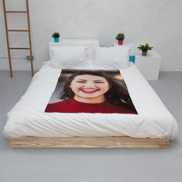 Face on Blanket