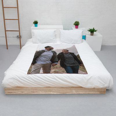 personalised snuggle blanket
