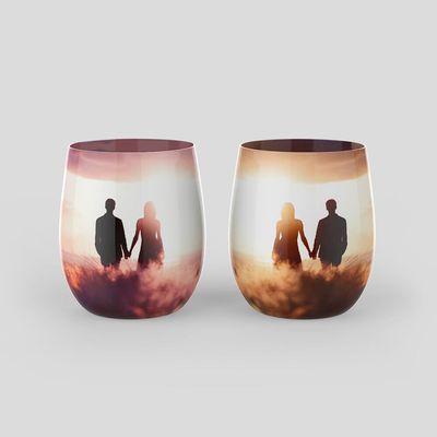 custom water glass nz