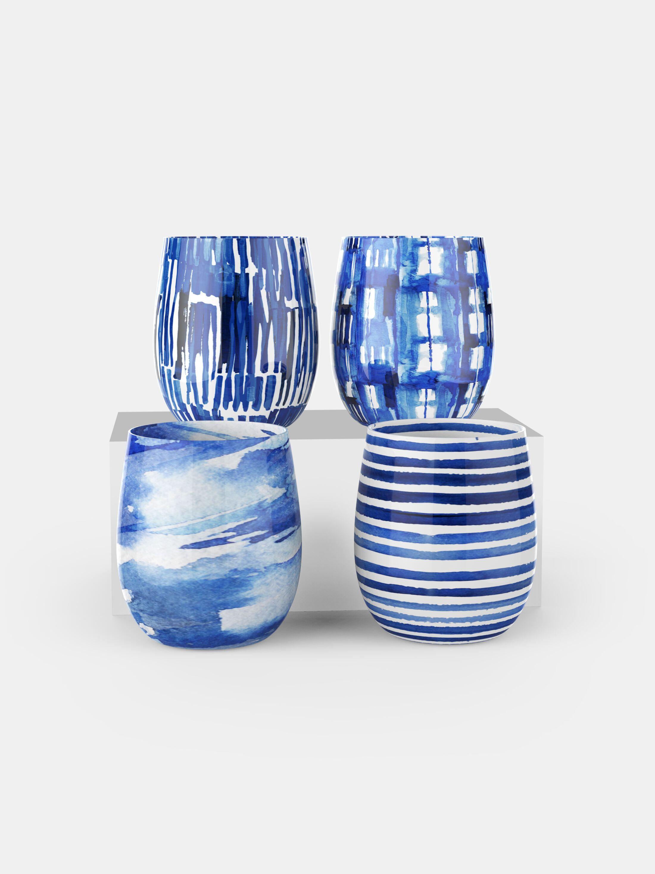 custom water glass