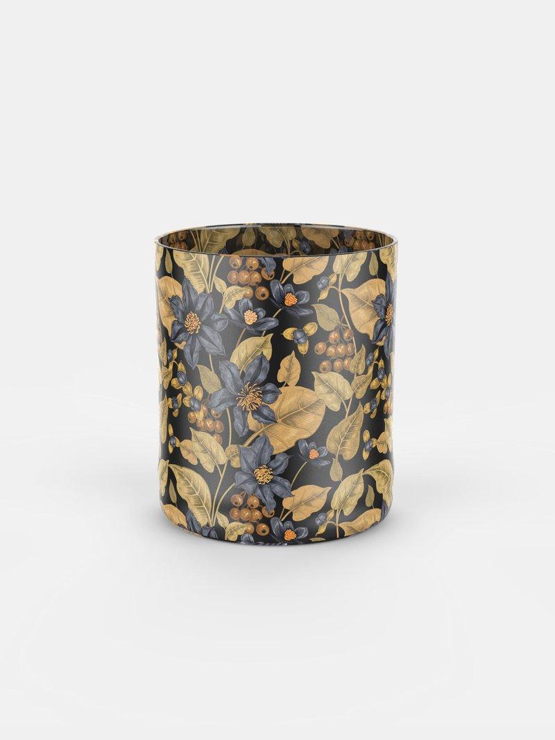 whiskyglas bedrukken met bloemenprint