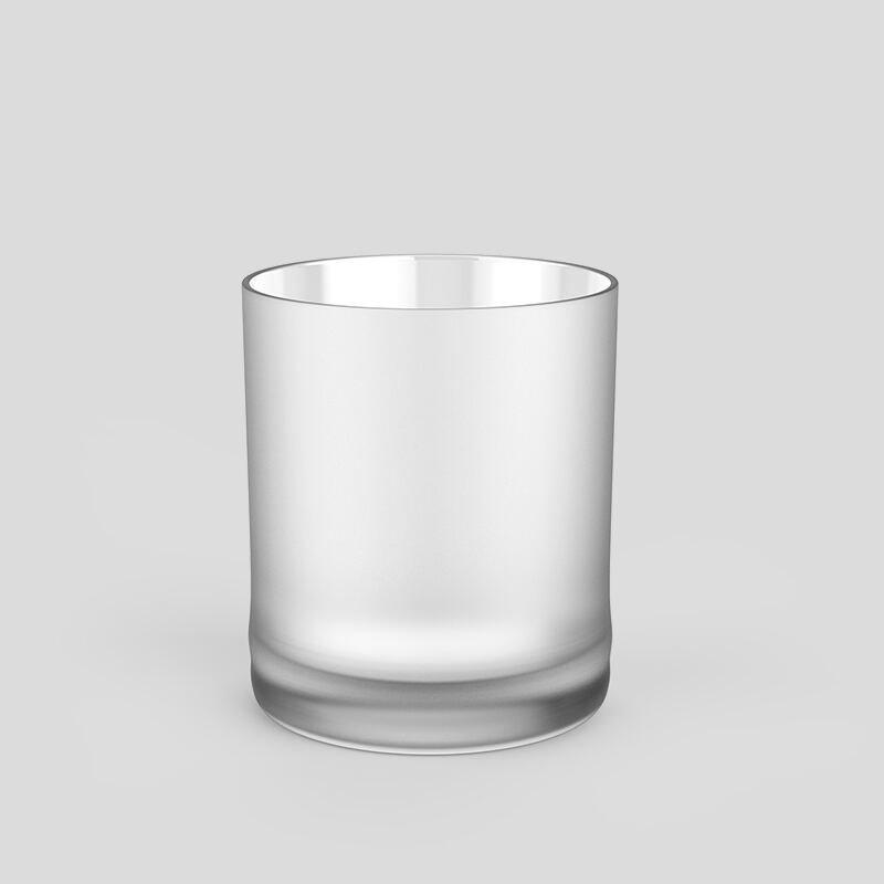 Individuell bedruckte Whiskygläser satiniertes Finish