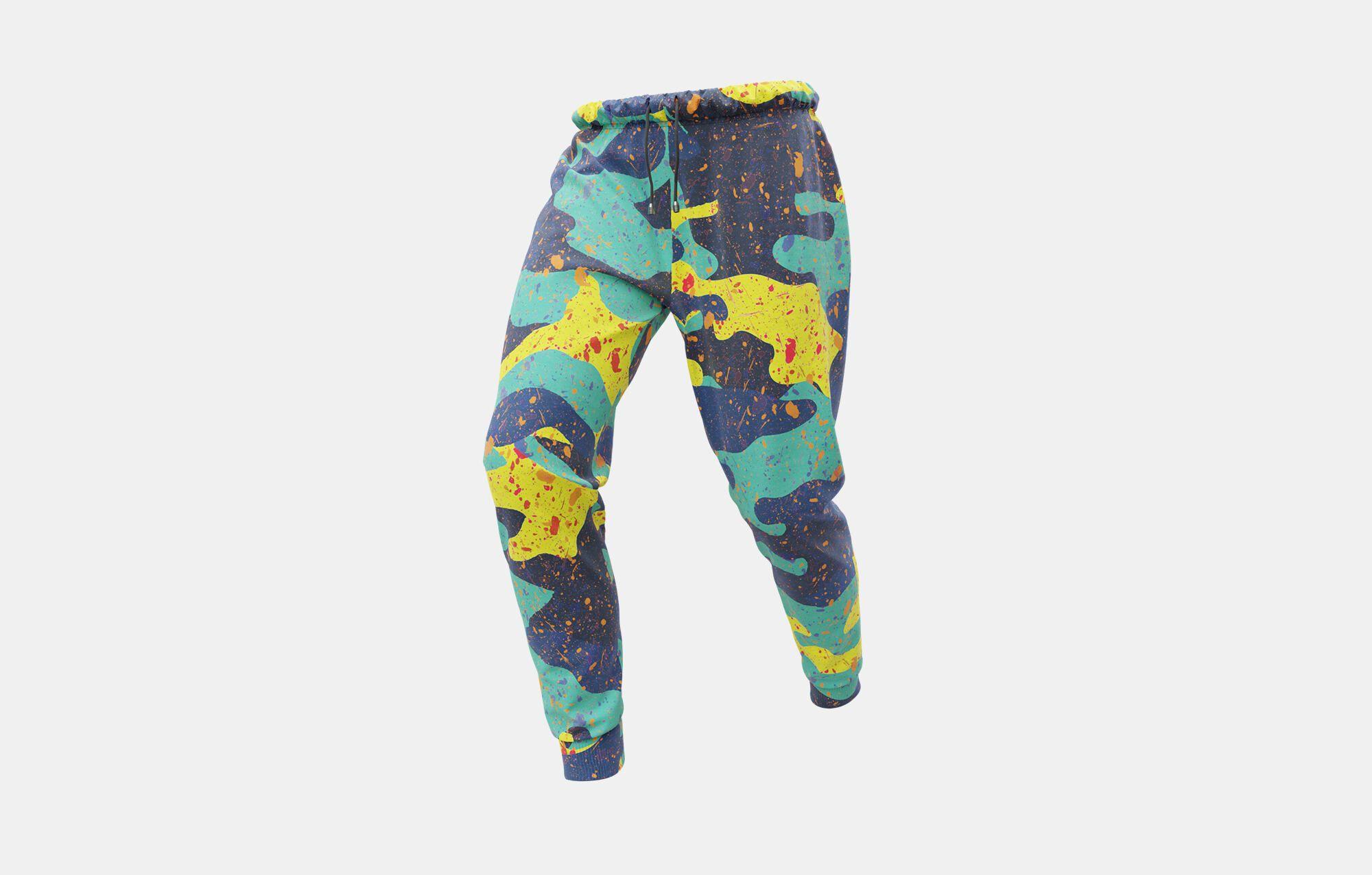 Pantaloni uomo personalizzati