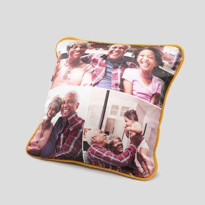 custom silk cushions