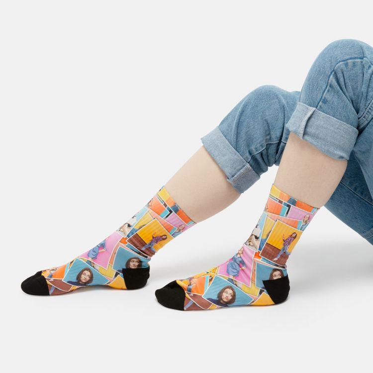 Chaussettes personnalisées photo