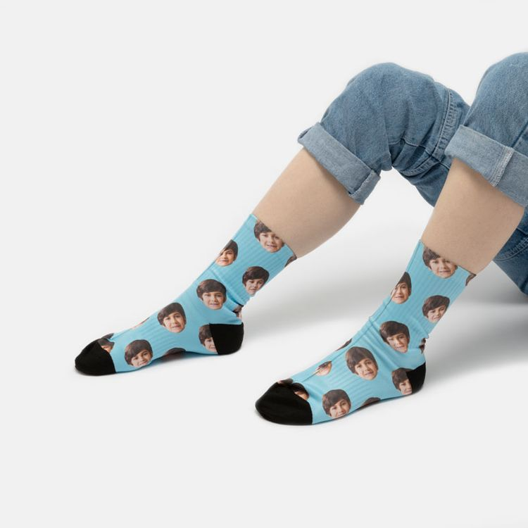 オリジナル靴下 写真印刷