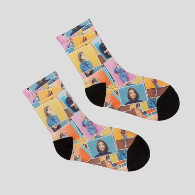 靴下 コラージュ