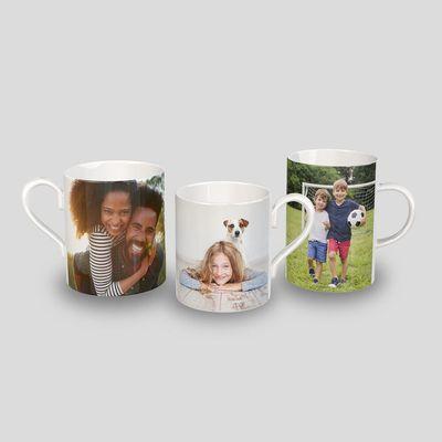 tazas con foto de porcelana