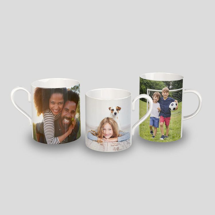 personalised fine bone china mugs
