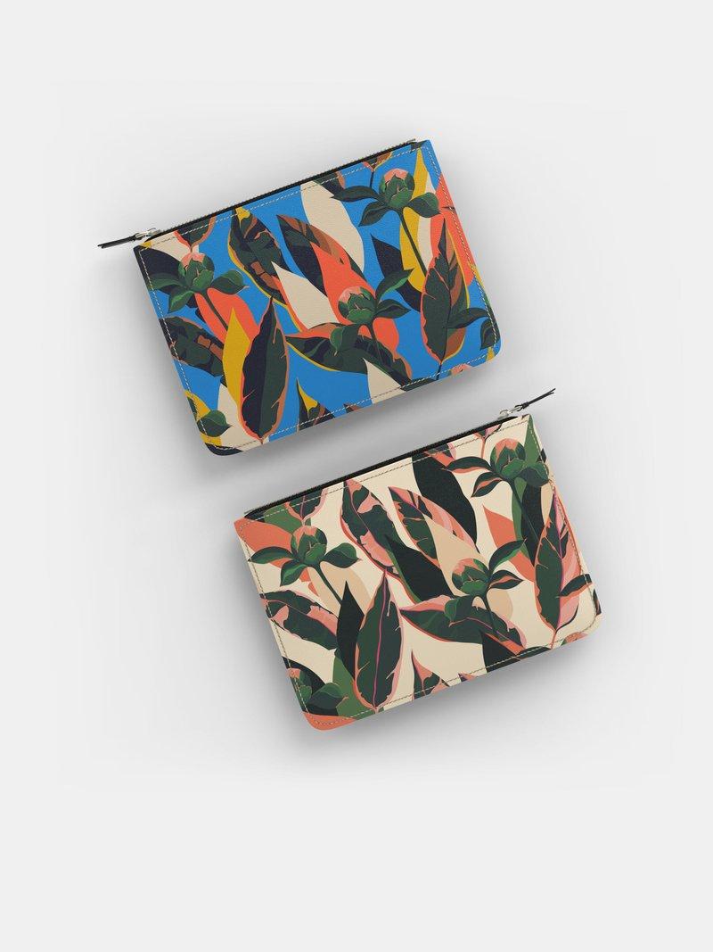 bolso de mano sin asas personalizado artesanal