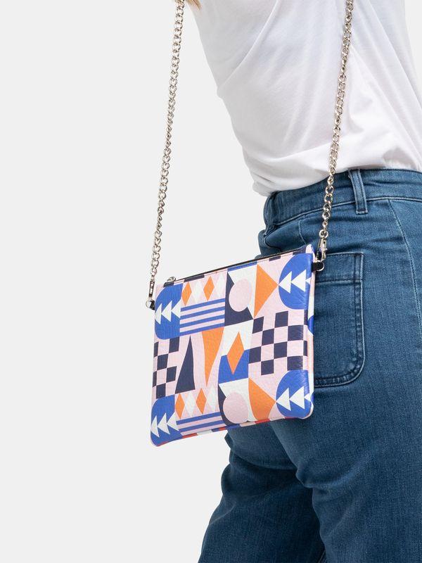 crossbody bag with chain photo