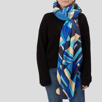 écharpe-couverture personnalisée