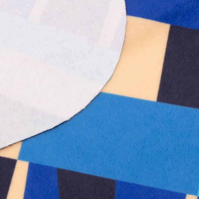 Oversize Schal Ecke und Rückseite Detail