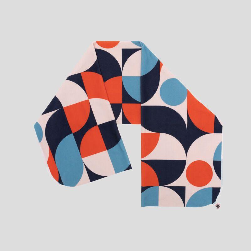 écharpe plaid personnalisée pliée