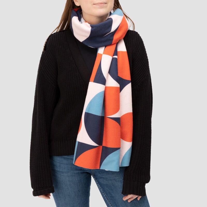 オリジナル大判ブランケットスカーフ オレンジ