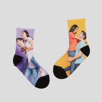 靴下デザイン 印刷