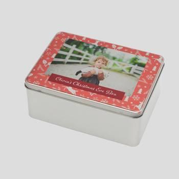 Christmas eve box with photo