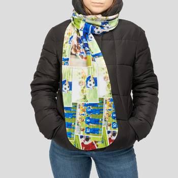 gepersonaliseerde fleece sjaal