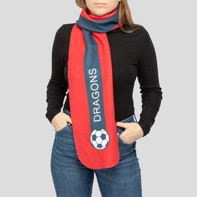 Custom Soccer Scarves With Photos