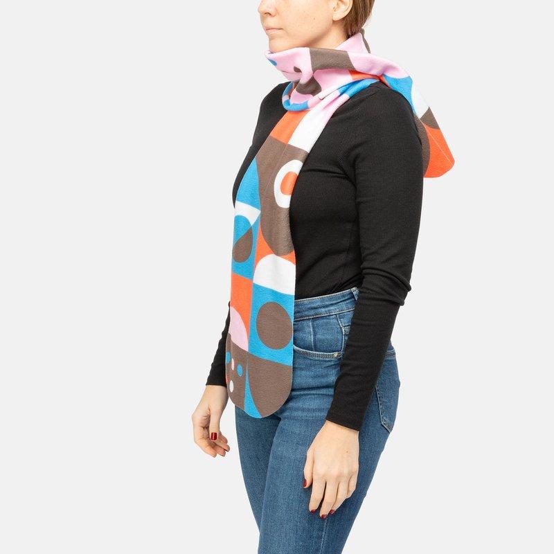 Schal selbst gestalten aus Fleece