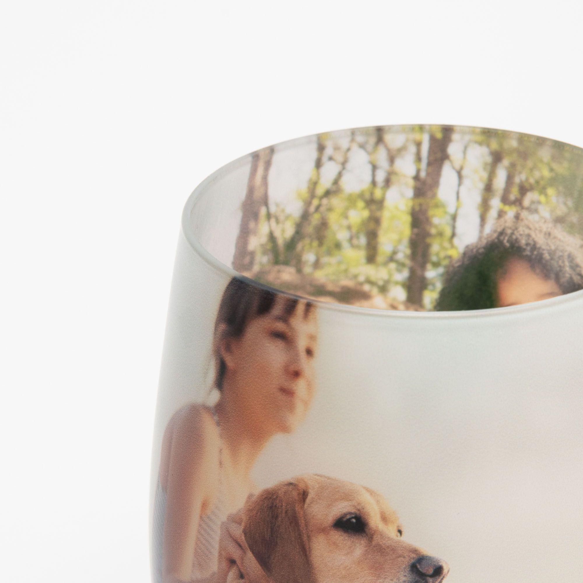 verre en cristal de qualité imprimé