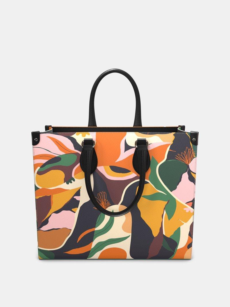 printed shopper bag design