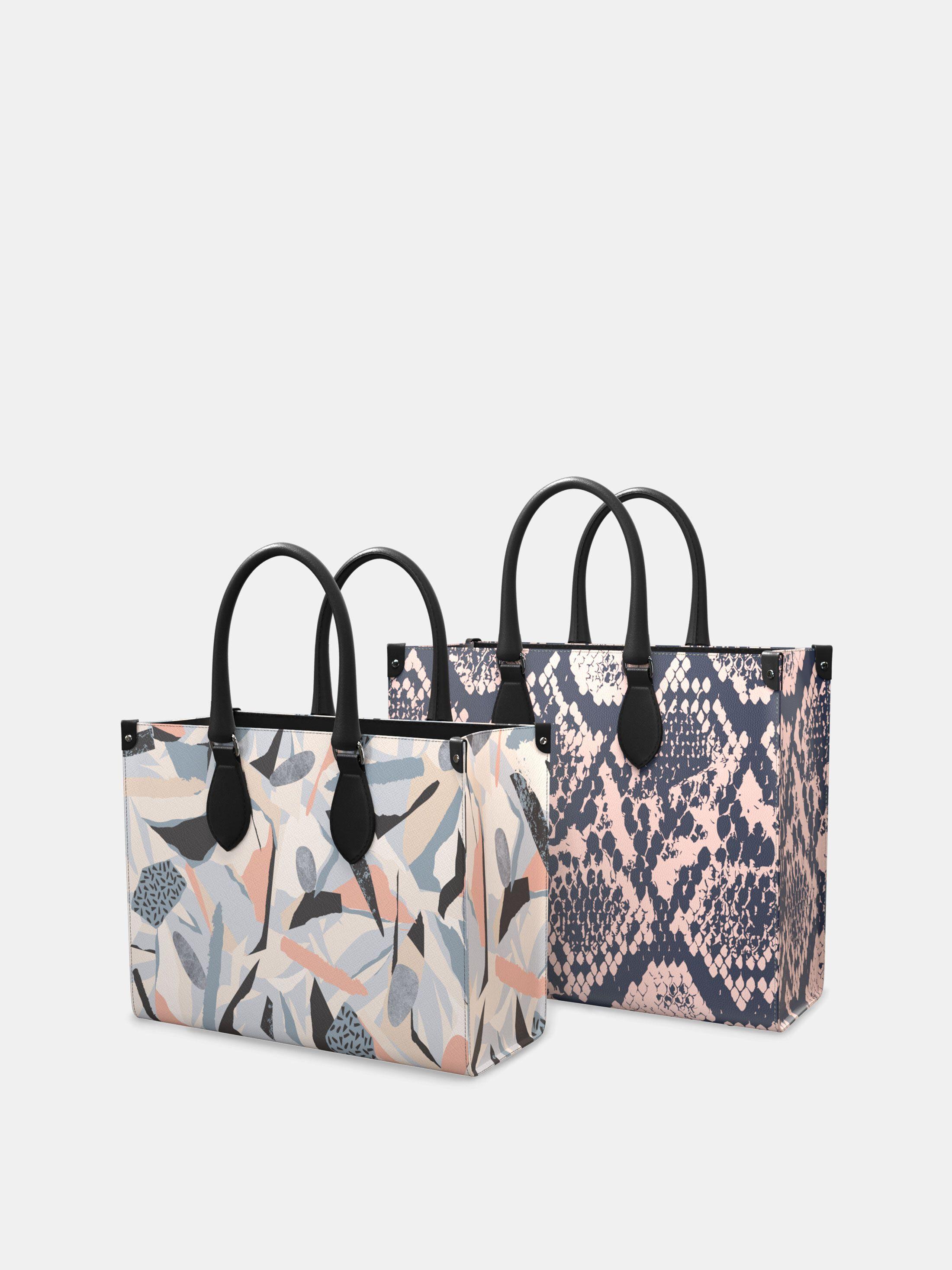 Leder Shopping Bag bedrucken