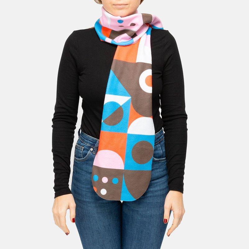 make your own fleece scarf