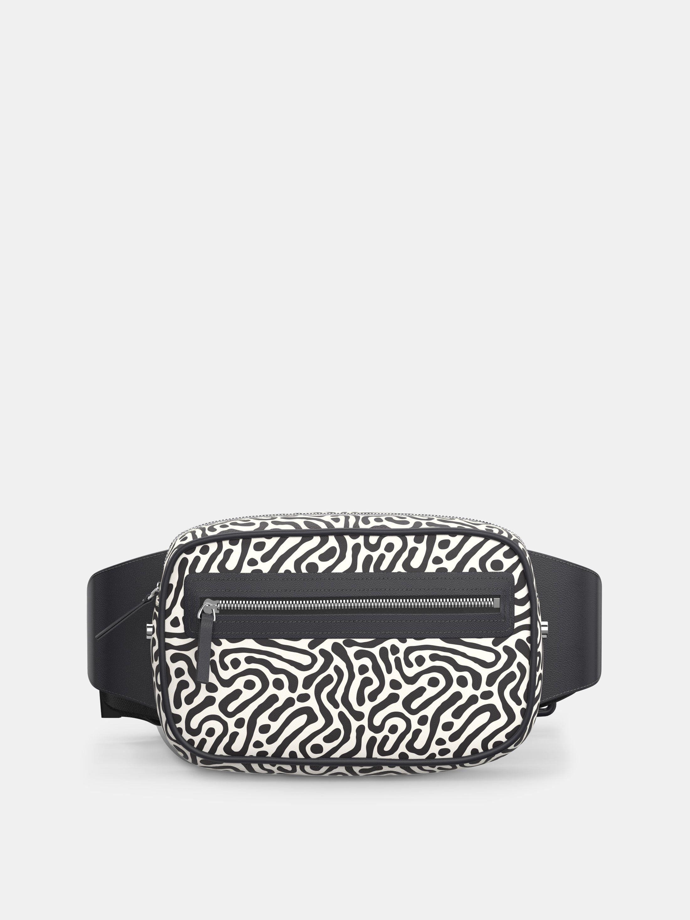 custom bum bags with zip