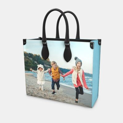 sac shopper personnalisé avec photo