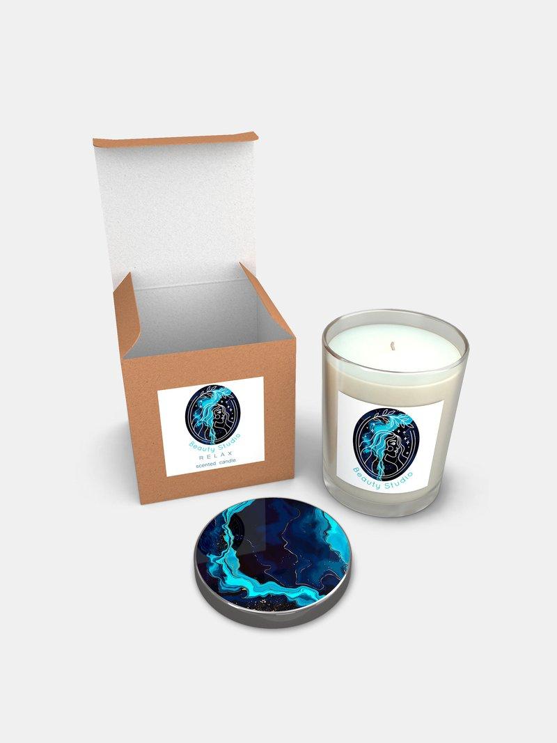 Kerzen im Glas selbst designen