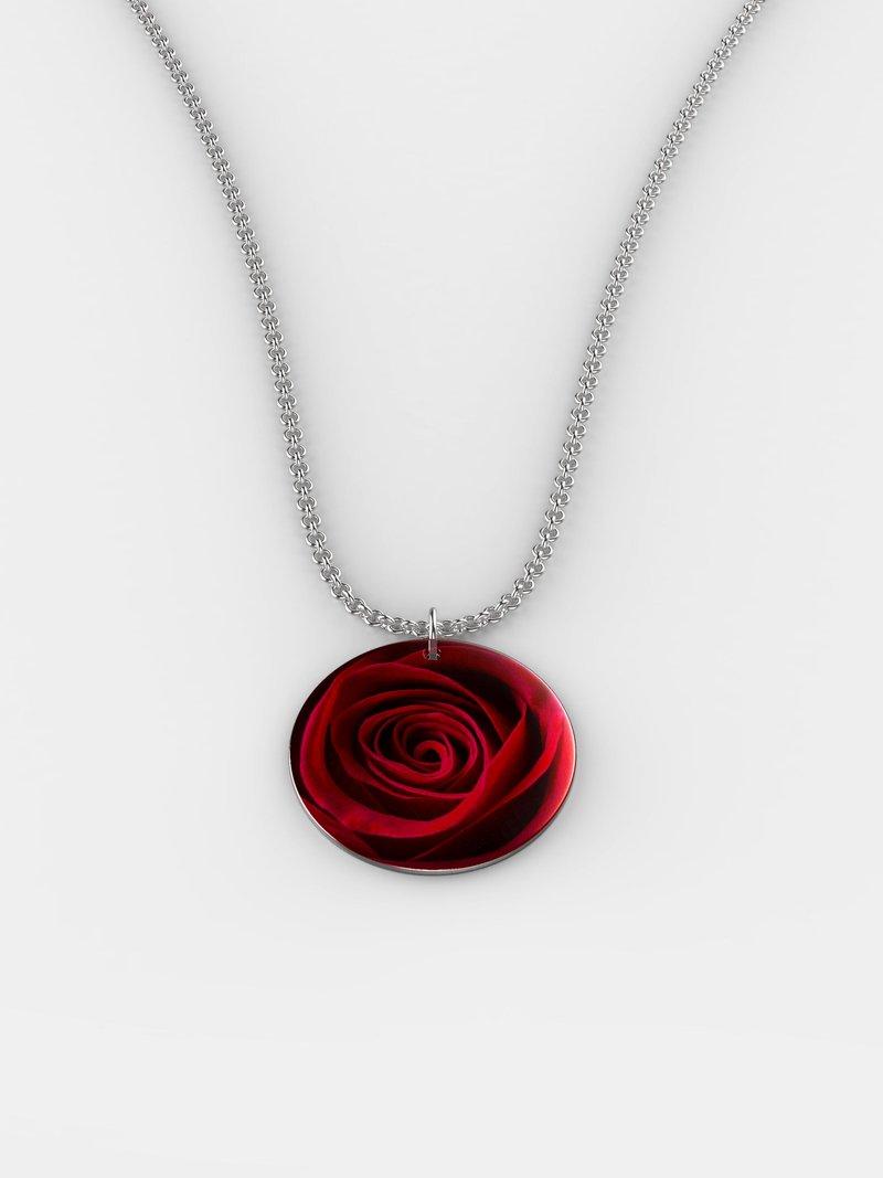 Bespoke silver necklace au
