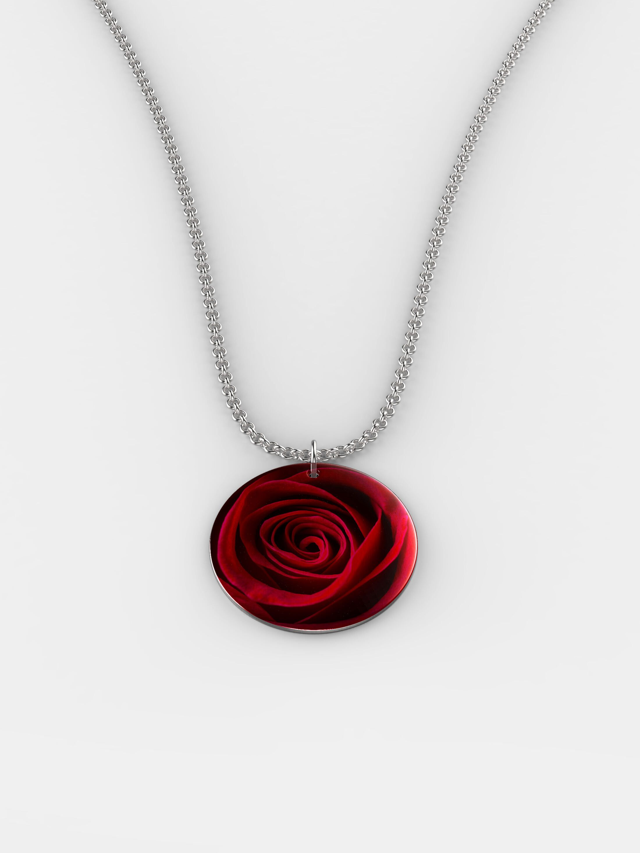 Bespoke silver necklace IE