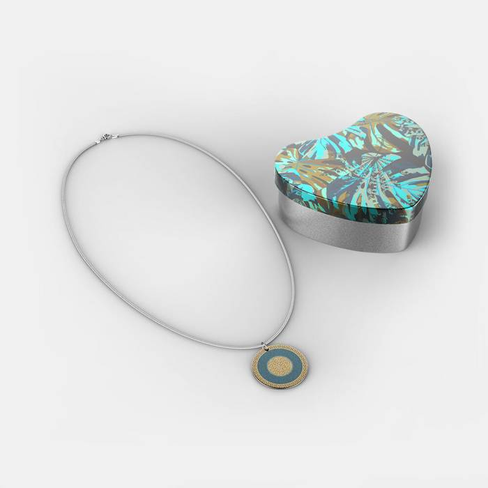 collar de plata personalizado online