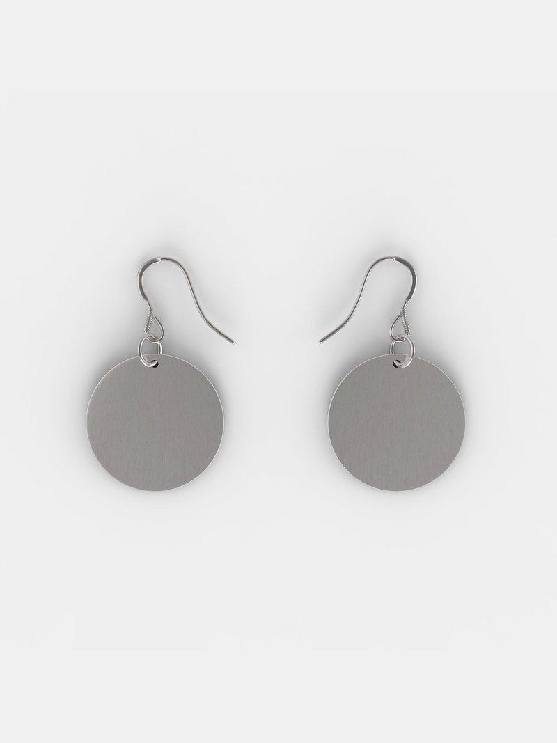 custom sterling silver earrings back