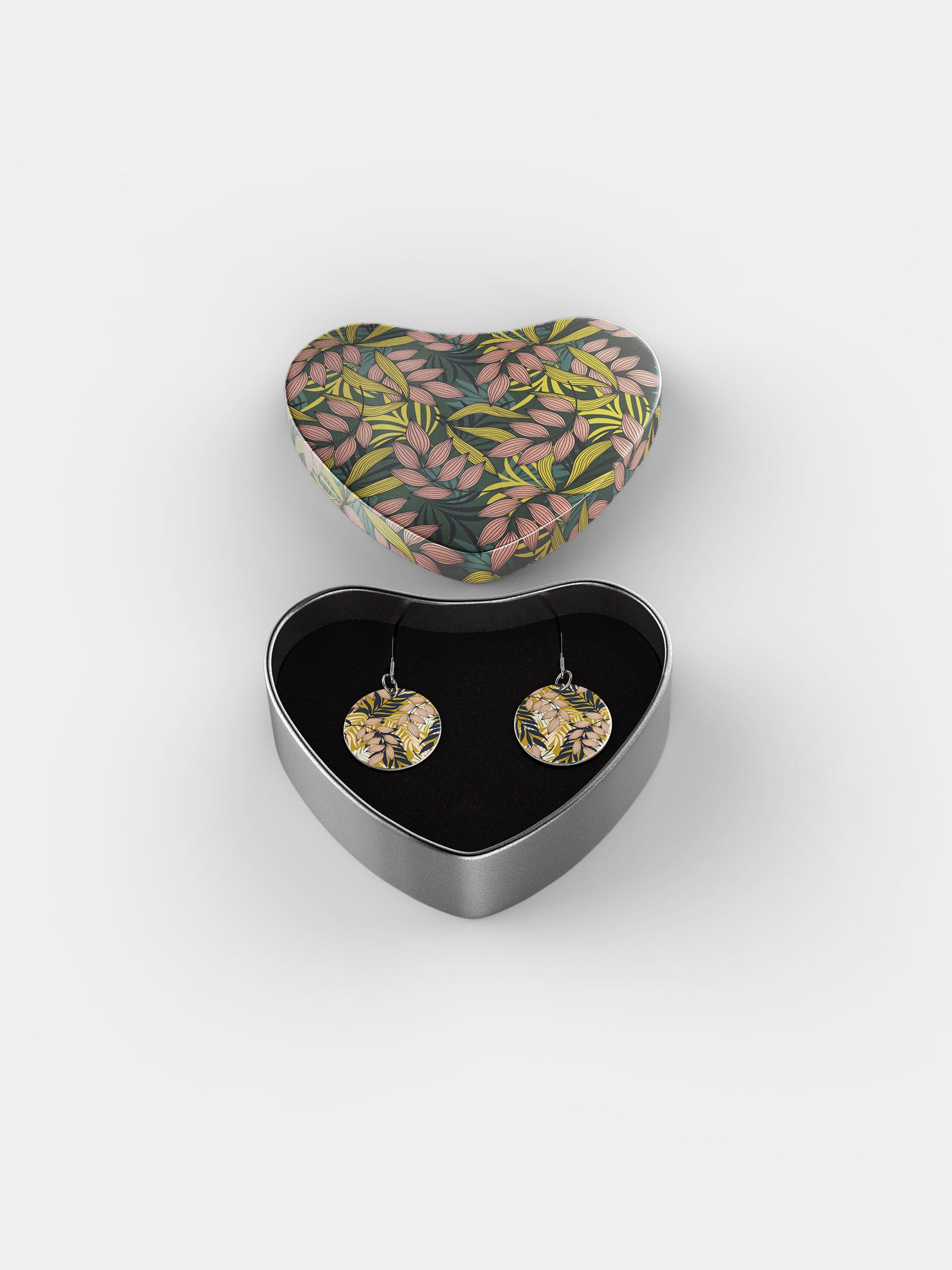 gepersonaliseerde sterling zilveren oorbellen