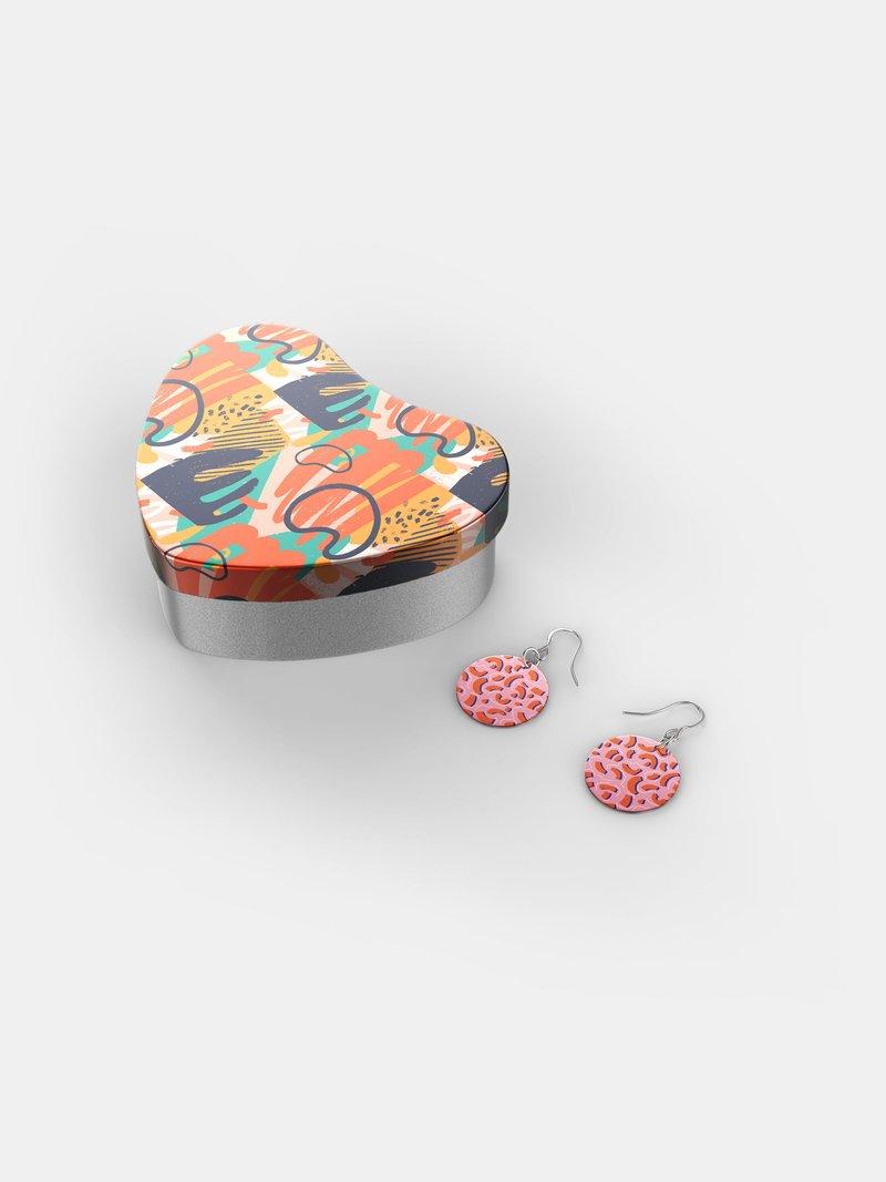 boucles d'oreilles personnalisées en argent