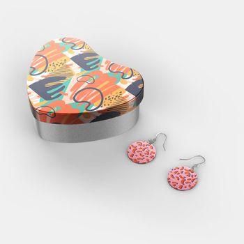 custom sterling silver earrings uk