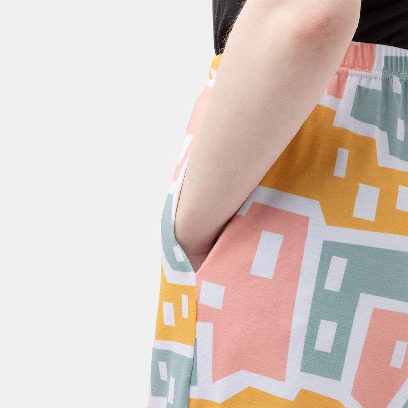 pyjama imprimé avec poches