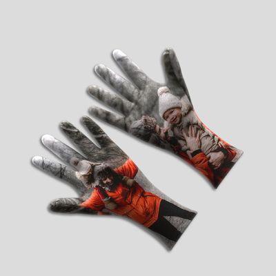 手袋 写真プリント