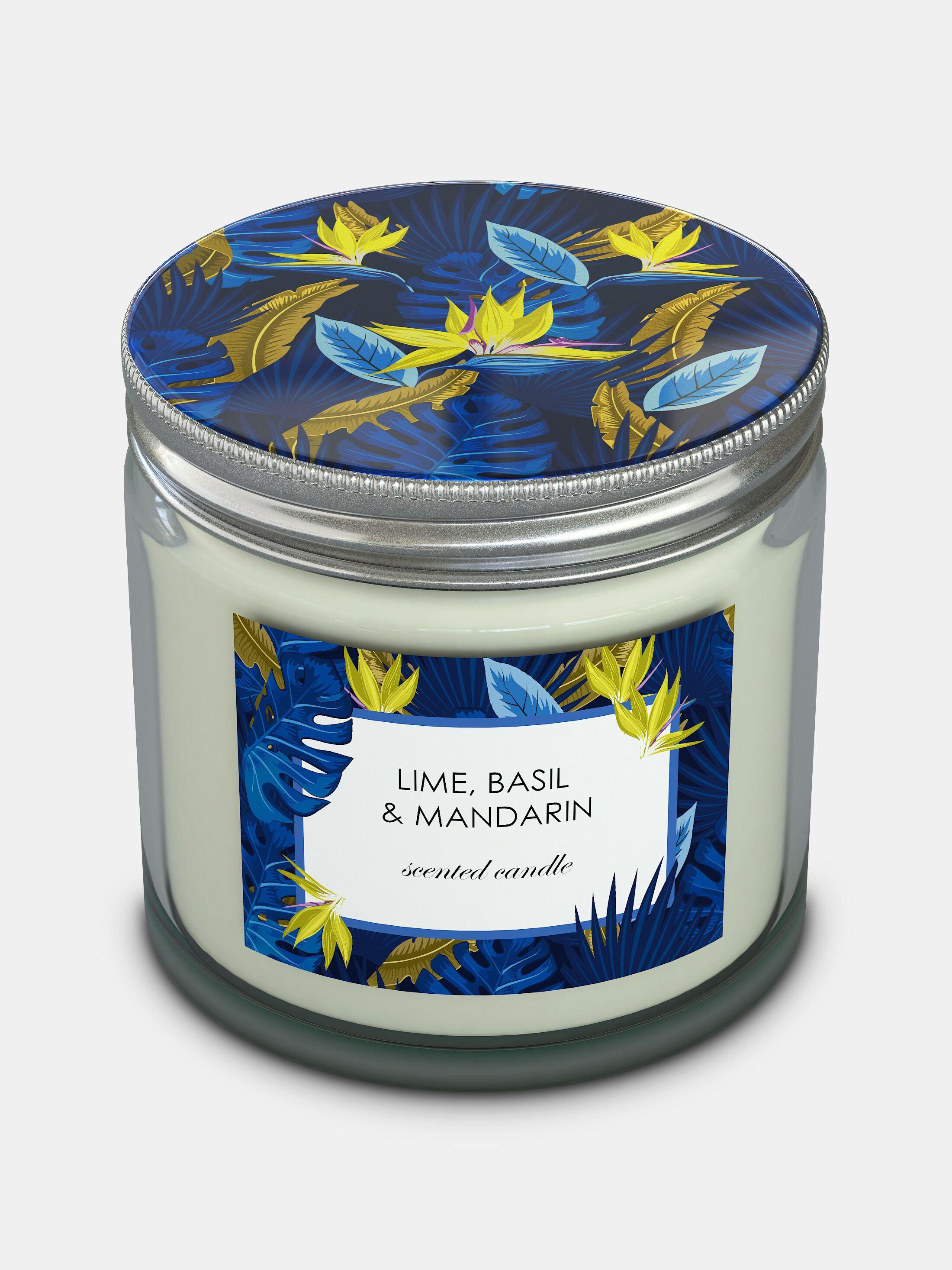 custom candle jars with lids