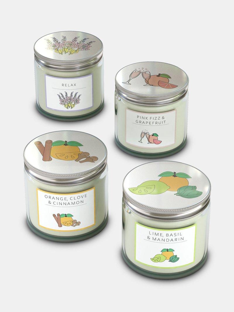 custom jar candles scents