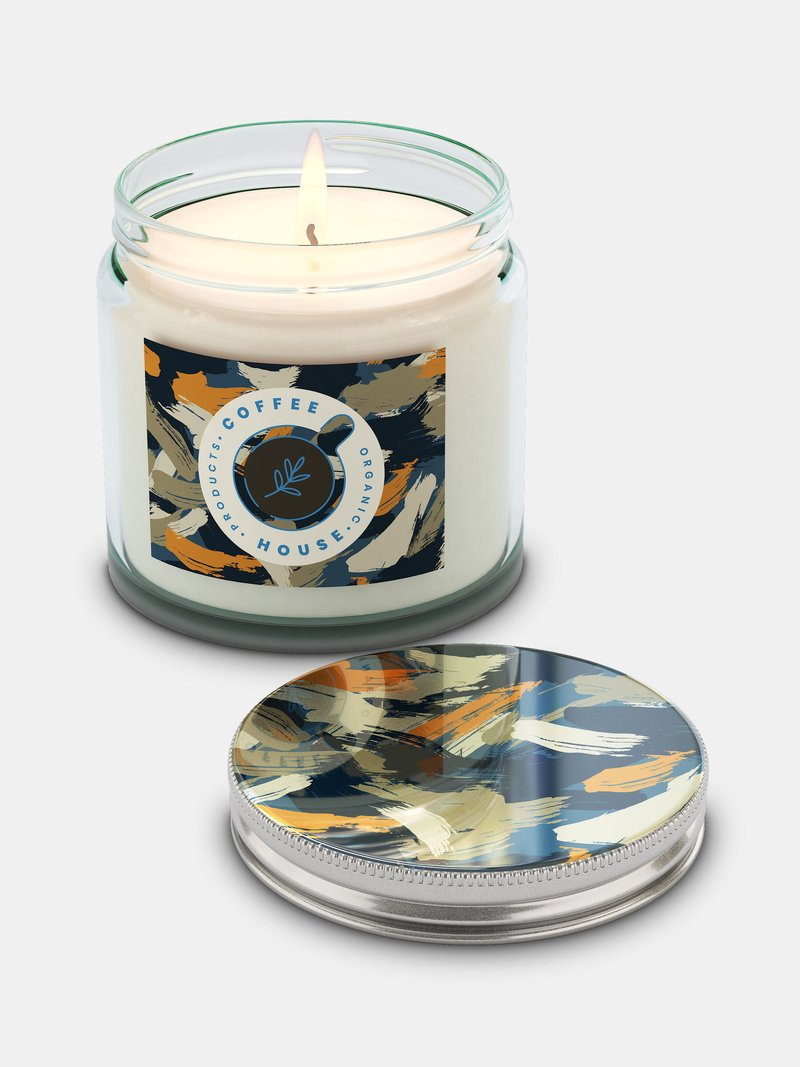 custom jar candles