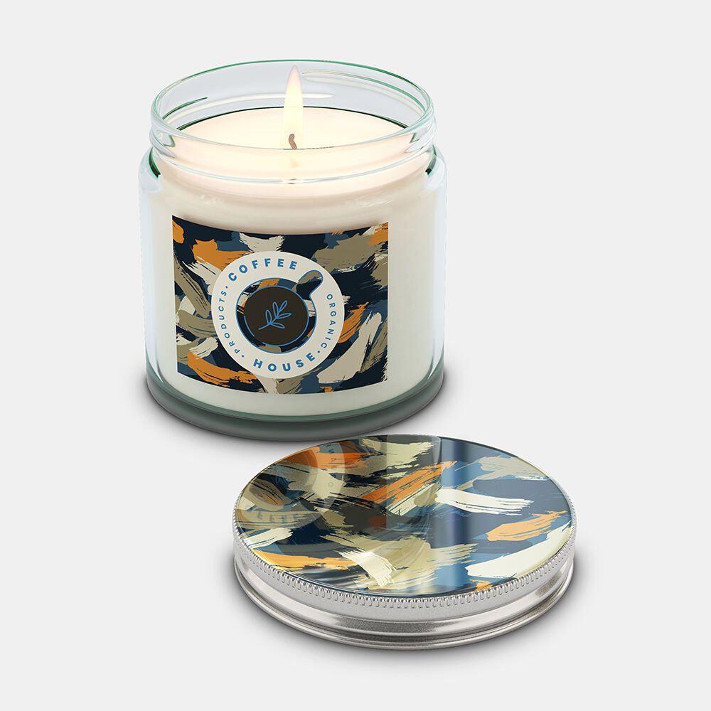 Kerze im Glas mit Schraubverschluss bedrucken