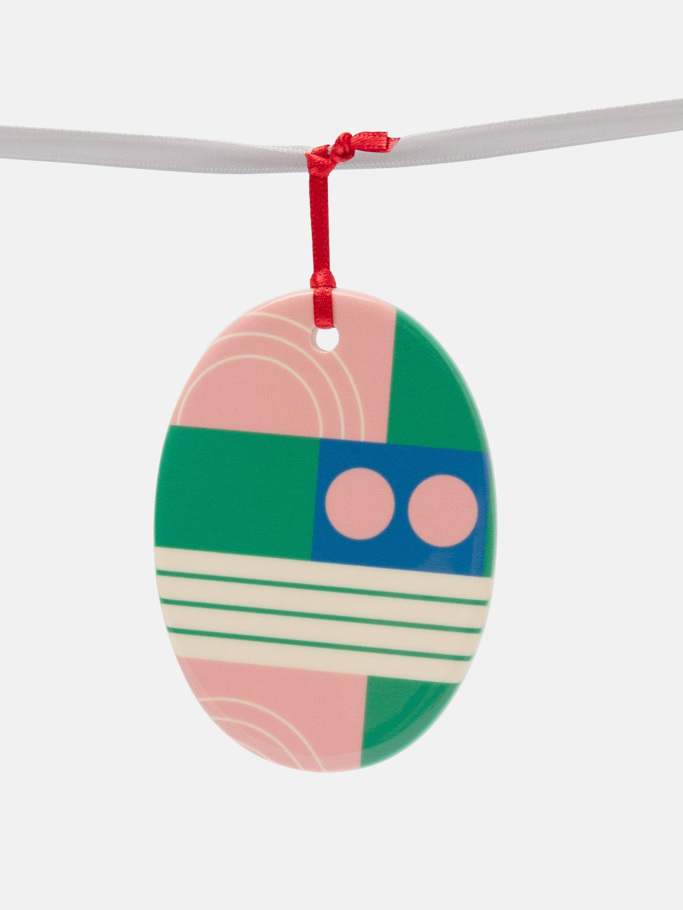Custom Christmas Ornaments oval shape