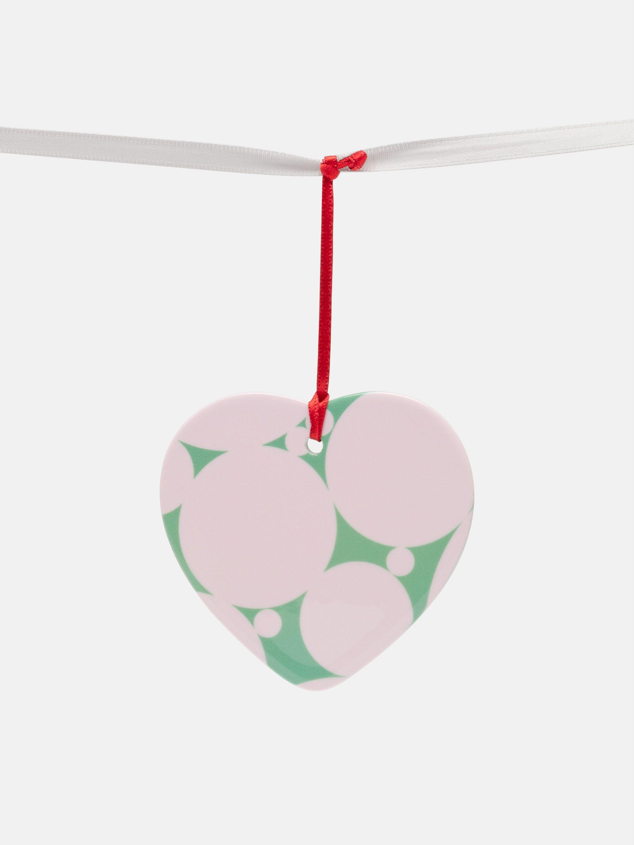 Custom Christmas Ornaments heart shape