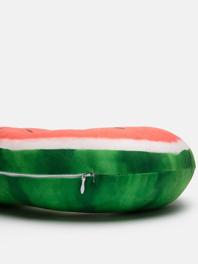 Zip opening travel neck pillow design