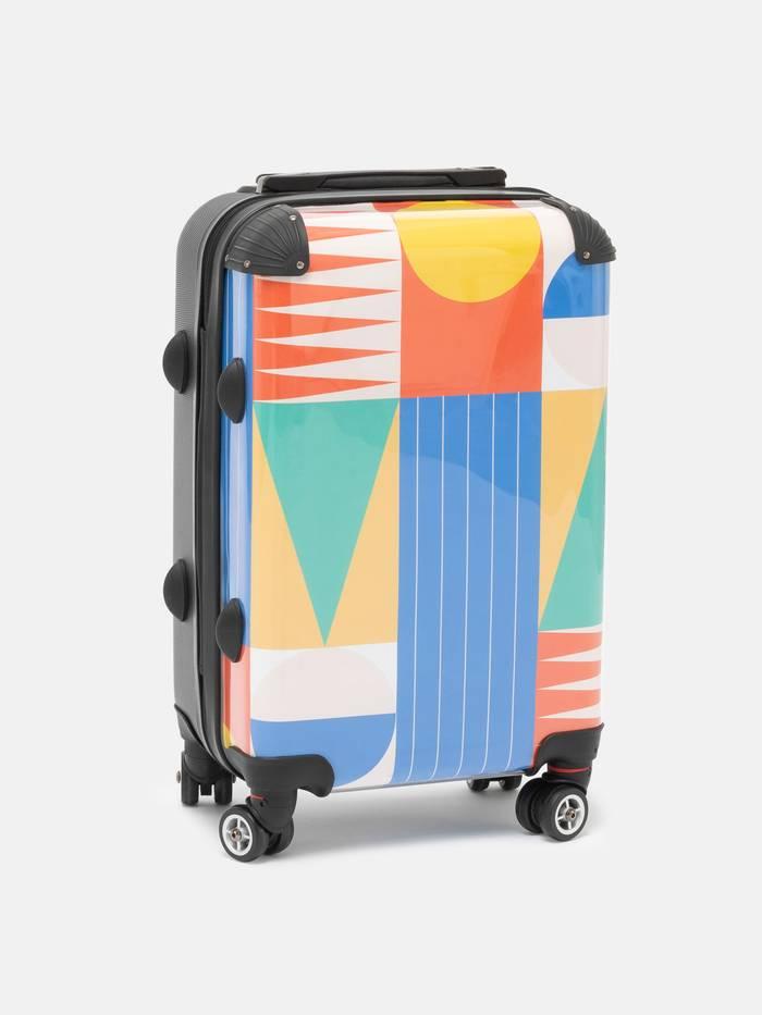 Valise personnalisée avec dessin
