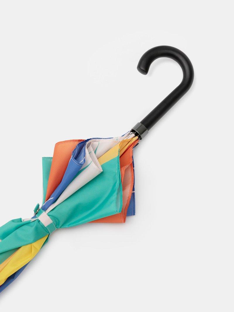natural handle umbrella