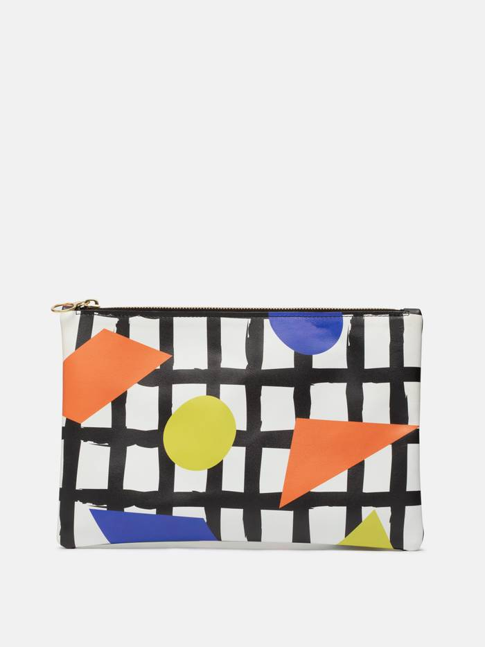 custom leather clutch purse